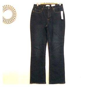 Coldwater Creek Natural Fit Bootcut Jeans Size 8